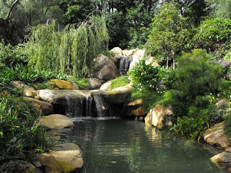 waterfall pond garden pond garcia rock and water design blog