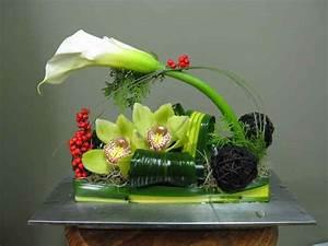 centre de table pour noel 2411 4 fleuriste abaca montreal With chambre bébé design avec compositions florales
