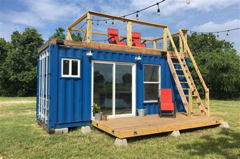 country cabins plans this shipping container home is cozy and affordable