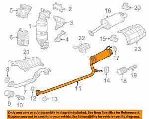 30 Honda Civic Exhaust System Diagram