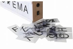 Boite Lumineuse Message : boite lumineuse 4 lignes d corative en bois 130 lettres message lampe poser pas cher ~ Teatrodelosmanantiales.com Idées de Décoration