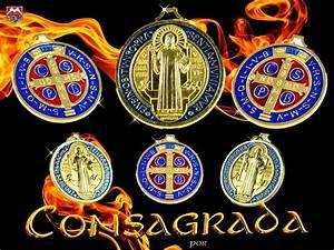 Medalla San Benito Consagrada Vaticano Lista Para