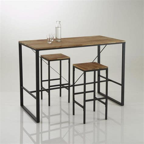 Table De Bar Haute Table Haute Table Salle A Manger Maisonjoffrois