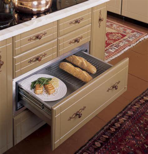 ge monogram  stainless steel warming drawer