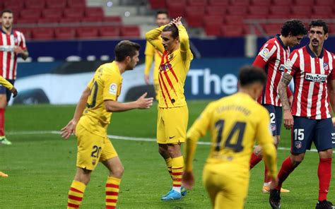 Atlético Madrid 1-0 Barça: First defeat at Wanda Metropolitano