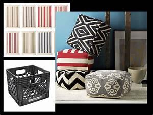 Tapis Plastique Ikea : cr er un pouf cube style ottaman avec des tapis ikea peu chers moins de 2 le tapis et un ~ Teatrodelosmanantiales.com Idées de Décoration