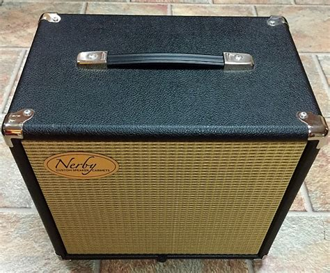 1x10 Guitar Cabinet by Nerby Custom 1x10 Guitar Speaker Cabinet 1x10 Black