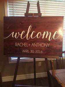 Welcome Sign Vinyl Decal