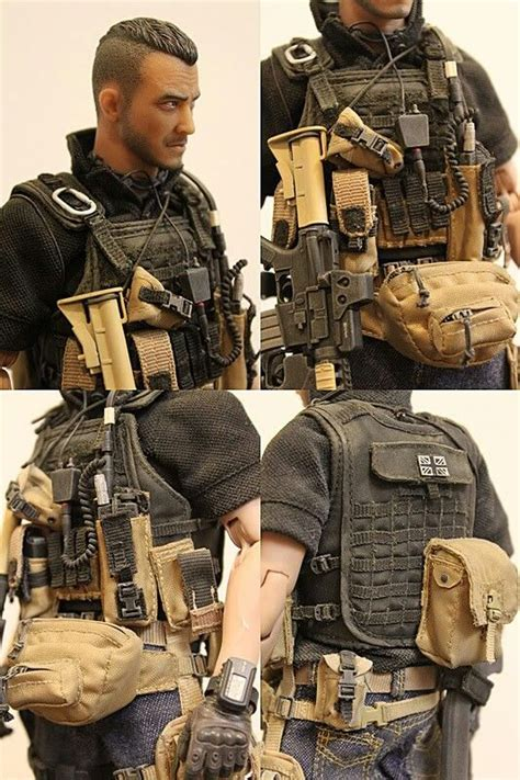 gear modern kitbash warfare action airsoft military tactical figures loadout guns soap uniforms rio special toys weapons beware suit figure