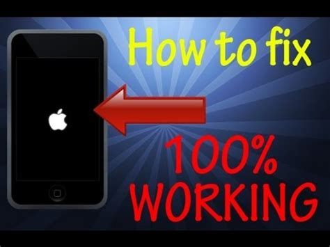 iphone 5s stuck on apple logo how to fix ipod touch stuck on apple logo screen 100
