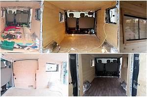 Wohnmobil Innenausbau Holz : lieferwagen zum campingmobil selbst umbauen bringhand blog ~ Jslefanu.com Haus und Dekorationen