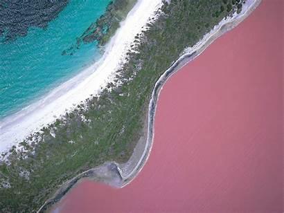 Lake Australia Hillier Pink Water Island Lakes
