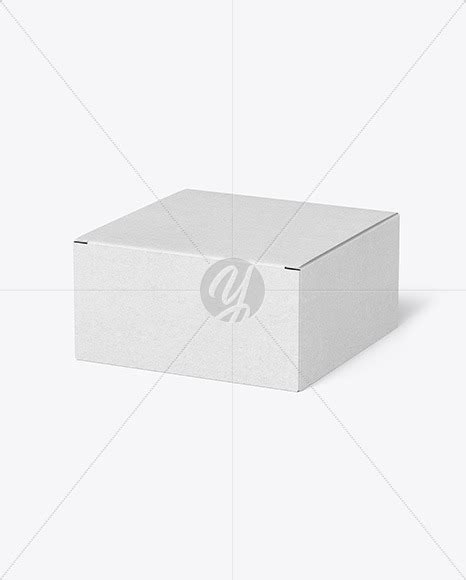 Free pizza box packaging mockup psd file. Kraft Paper Box Mockup in Box Mockups on Yellow Images ...