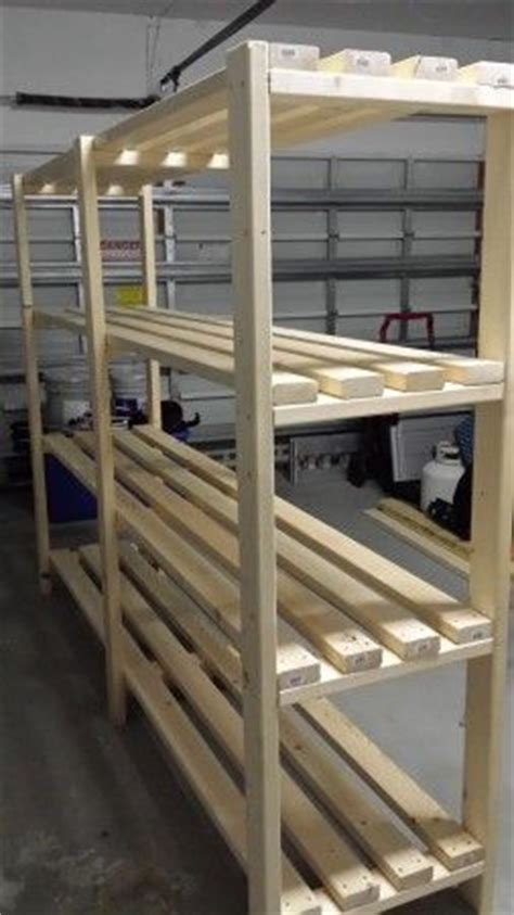 garage shelves    plans woodworking projects plans
