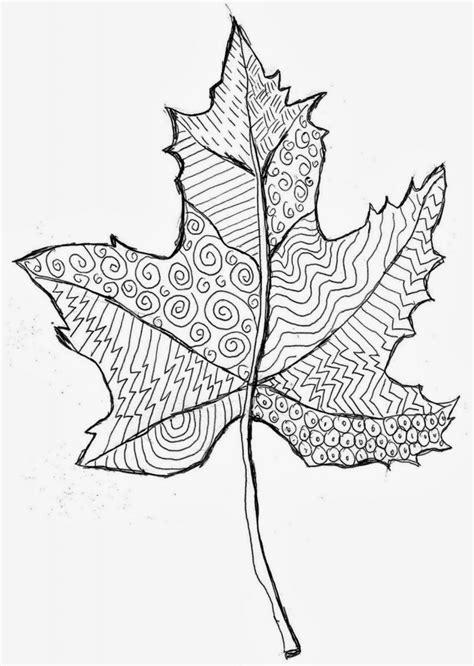 pattern leaf art projects  kids
