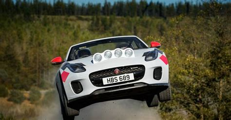 Jaguar Unveils Rally-spec F-type Convertible Special