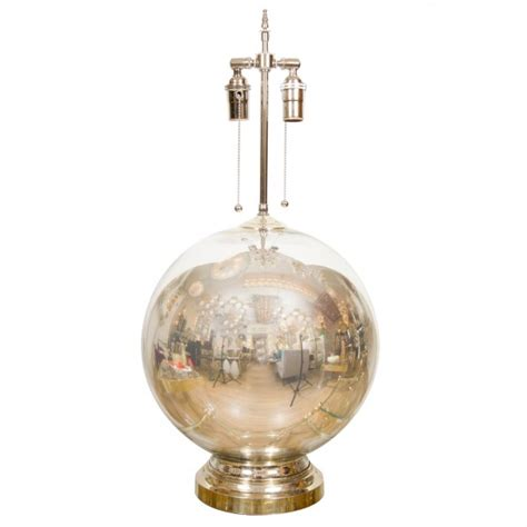 single spherical mercury glass l single ls