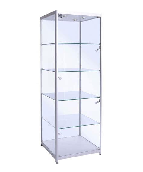 Door 500 X 720 by 500mm Square Glass Aluminium Cabinet