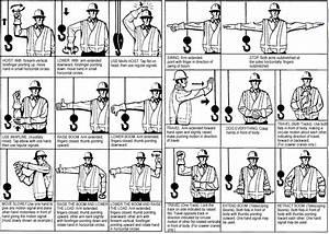 Crane Hand Signal Chart Free