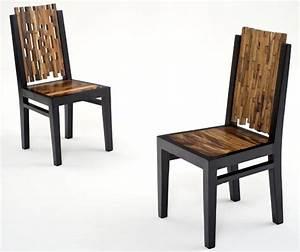 Contemporary Wooden Modern Chair, Modern Dining Chair