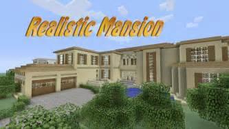 find floor plans minecraft realistic mansion