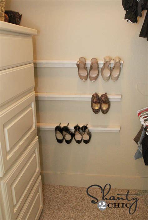 Closet Organization  Shoe Organizers Diy  Shanty 2 Chic