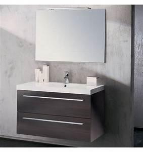 meuble une vasque salle de bain With porte de douche coulissante avec ensemble vasque meuble salle de bain pas cher