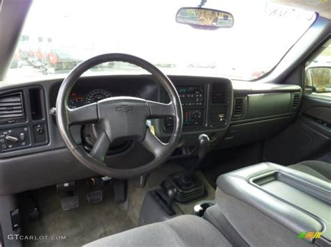 2003 Chevy Silverado Interior by Medium Gray Interior 2003 Chevrolet Silverado 2500hd Ls