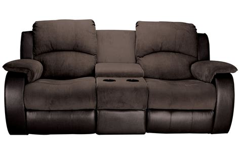 Microfiber And Loveseat by Lorenzo Microfiber Reclining Loveseat With Console