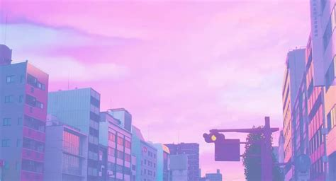 high quality anime pink aesthetic wallpaper desktop