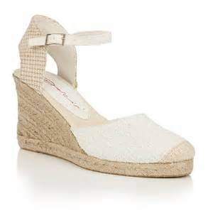 buy dolcis ladies sommer wedge sandals white online
