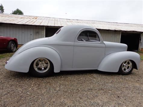 1941 willys new fiberglass new chassis roller project rat rod for sale photos