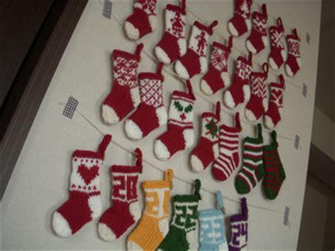ravelry mini christmas stocking ornaments pattern