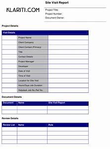 Online Printable Graph Paper Site Visit Report Template Klariti Download Printable