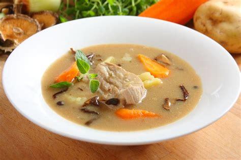 Zupa grzybowa tradycyjna - Ameryka po polsku