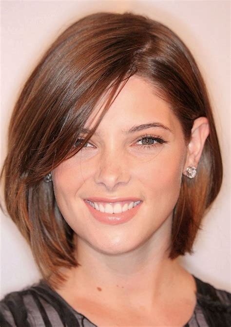 medium bob haircut length hair hairstyles  fat faces short hair styles  face