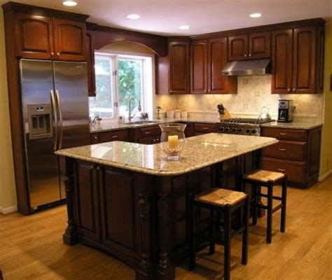 Kitchen Island Design Layout by Best 25 L Shaped Island Ideas On Corner