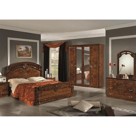 chambre a coucher prix chambre à coucher complète italo orientale panel meuble