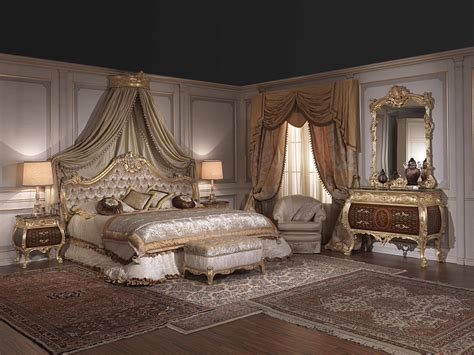Luxury Furniture : Furniture For Luxury Bedroom Emperador Gold Art. 397-931
