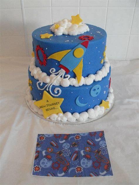 Rocket Themed  Ee  Baby Ee    Ee  Shower Ee   Cake  Ee  Baby Ee    Ee  Shower Ee   Cakes