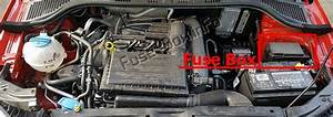 Fuse Box Diagram Skoda Fabia  Mk3  Nj  2015