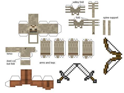 Papercraft Skeleton Warrior (primitive Mobs Mod