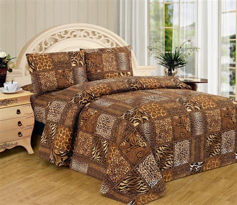 animal print bedding safari bedding comforters ease