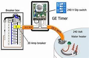 220 Volt Timer Wiring Diagram