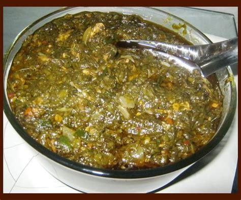 recette cuisine malienne sauce feuilles de patate recettes africaines