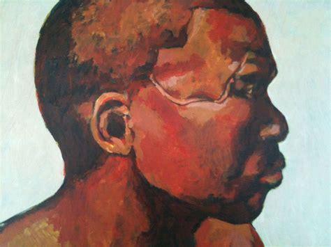 peinture visage africain