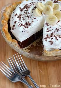 Chocolate Banana Cream Pie - Your Cup of Cake