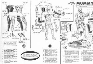 Aurora Monster Model Instructions