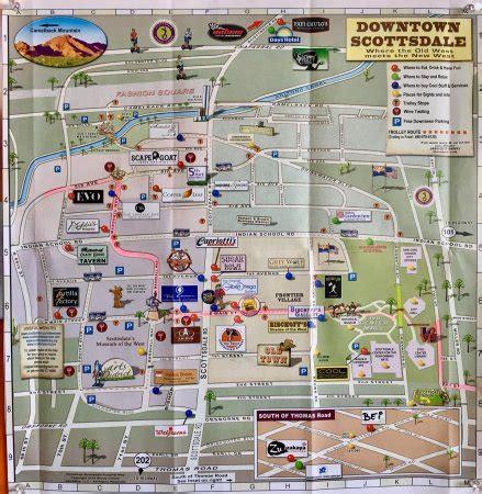 town scottsdale restaurants map  restaurants