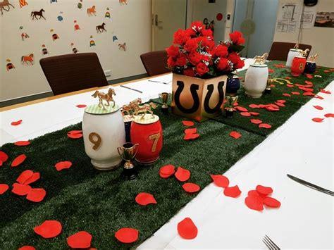 Melbourne Cup Table Decorations